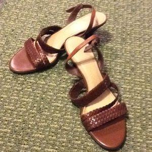 Woven Strap Sandal